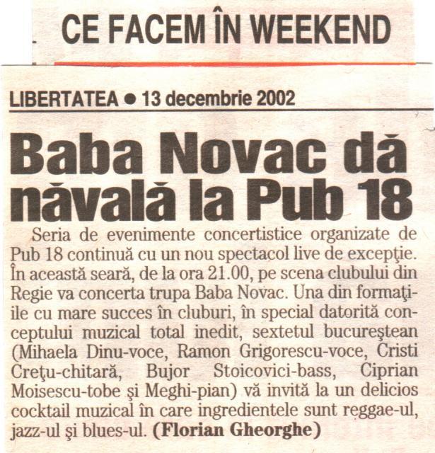 Libertatea - Baba Novac