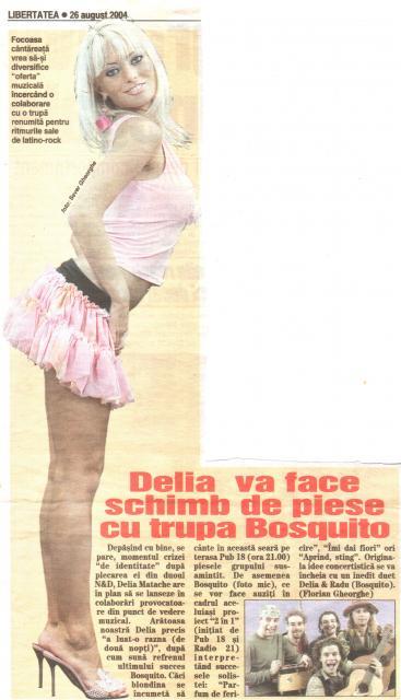 Libertatea - 2 in 1 Delia&Bosquito