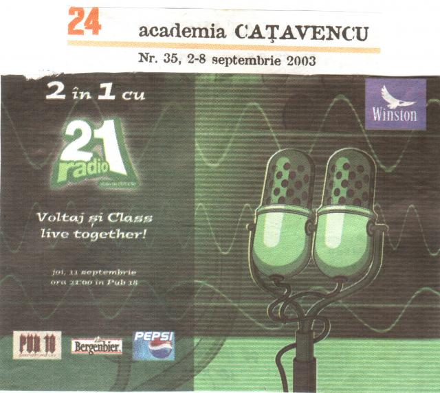 Catavencu - 2 in 1 Voltaj&Class